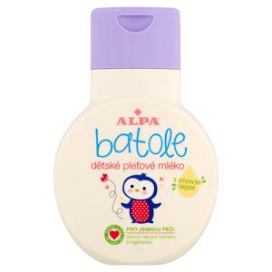 ALPA Batole Dětské pleťové mléko s olivovým olejem 200 ml