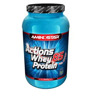 AMINOSTAR Actions whey protein 85% jahoda 2000 g