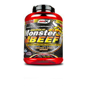 AMIX Anabolic Monster BEEF 90% Protein 2200 g - Lesní ovoce
