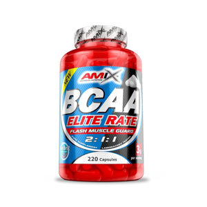 AMIX BCAA Elite Rate 220 kapslí