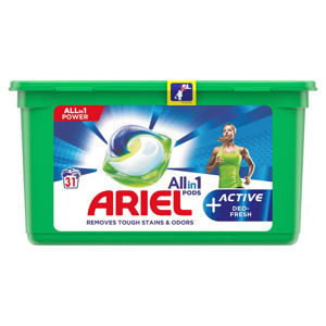ARIEL kapsle Allin1 Pods + Active Odor Defense 31 PD