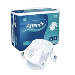 ATTENDS Slip active 9 absorpční kalhotky vel.L 28 ks