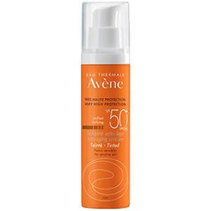 AVÈNE Sluneční Anti-age Tónovaný SPF 50+ 50 ml