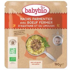 BABYBIO Denní menu Hovězí hachis parmentier 190 g