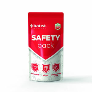 BATIST Safety pack maska + rukavice + ubrousek