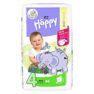 HAPPY Maxi Big Pack Dětské pleny 8-18kg 66 ks