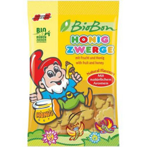 Bio gumové bonbony medoví trpaslíci 85g