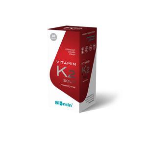 BIOMIN Vitamin K2 Solo 60 tobolek