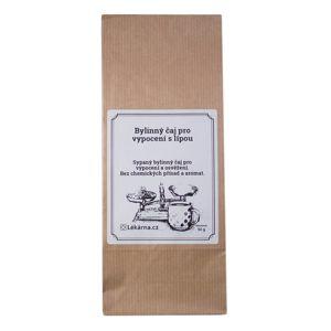 Bylinný čaj pro vypocení s lípou od LÉKÁRNA.CZ 50 g
