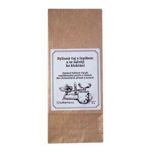 Bylinný čaj s řepíkem a se šalvějí ke kloktání od LÉKÁRNA.CZ 50 g