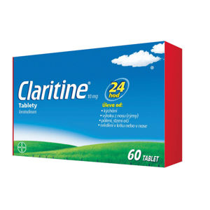 CLARITINE 10 mg 60 tablet