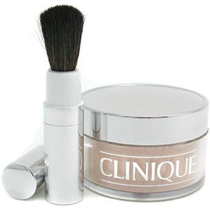 CLINIQUE Blended Face Powder And Brush 02 35 g Odstín 02 Transparency