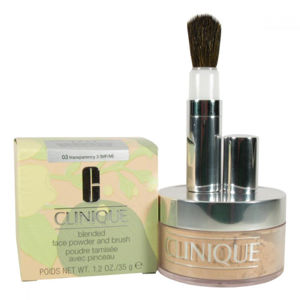 CLINIQUE Blended Face Powder And Brush 03 35 g Odstín 03 Transparency