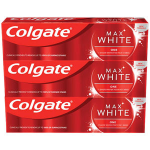 COLGATE Zubní pasta Max White One Sensational Mint 3x 75 ml