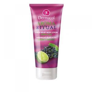 DERMACOL Tělové mlékohrozny s limetkou 200 ml