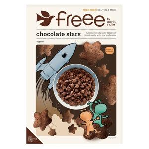 DOVES FARM Čokoládové hvězdičky bez lepku 300 g BIO