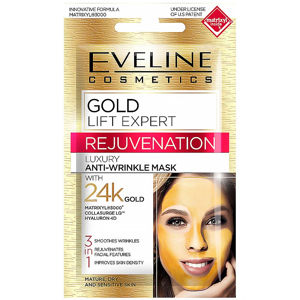 EVELINE Gold Lift Expert pleťová maska 3v1  7 ml