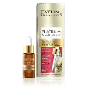 EVELINE COSMETICS Platinum&Collagen Wrinkle reducing serum day&night 18 ml