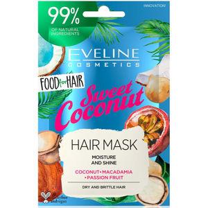 EVELINE Food For Hair Vlasová maska Coconut 20 ml