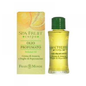 Frais Monde Spa Fruit Orange And Chilli Leaves Perfumed Oil Parfémovaný olej 10ml Pomeranč a Chilli