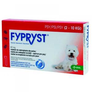 FYPRYST Spot-on pro psy (2-10 kg) 0.67 ml