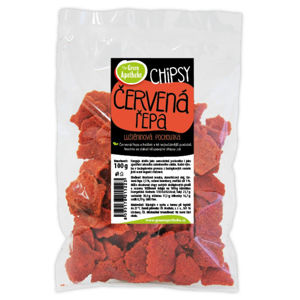 GREEN APOTHEKE Luštěninové chipsy s červenou řepou 100 g