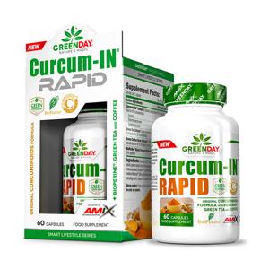GREENDAY Curcum-IN rapid 60 kapslí
