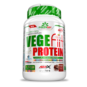 GREENDAY Vege-fiit protein double chocolate 720 g