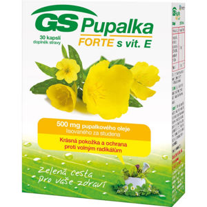 GS Pupalka Forte s vitaminem E 30 tablet