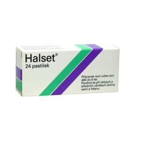 HALSET Pastilky rozpustné v ústech 24 x 1,5 mg
