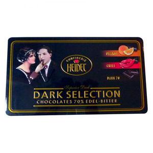 HD Kolekce hořkých čokolád plech 120g