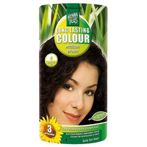 HENNA PLUS Přírodní barva na vlasy SYTĚ HNĚDÁ 4 100 ml