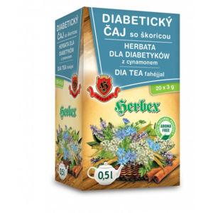 HERBEX Hladina cukru diabetický čaj 20 sáčků