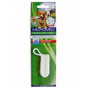 Kartáček zubní MICROMED na prst pes