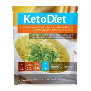 KETODIET Proteinová polévka Kuřecí s nudlemi 7 porcí