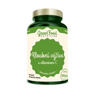 GREENFOOD NUTRITION Kloubní výživa s vitamínem C 60 kapslí