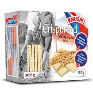 KNUSPI Crispbread ječný 150 g