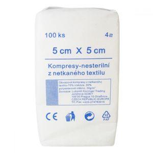 Kompresní Netex nesterilní 5x5/100ks 4vr.ZSZ