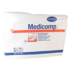 Kompres Medicomp nesterilní 10 x 20 cm / 100 ks 4218279