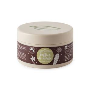 LA SAPONARIA Výživný tělový krém s mrkví a vanilkou BIO 180 ml