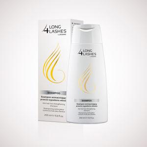 LONG 4 LASHES posilující šampón 200 ml