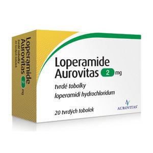 LOPERAMIDE AUROVITAS 2mg 20 tobolek