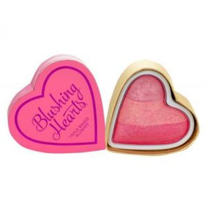 MAKEUP REVOLUTION LONDON I Heart Makeup Blushing Hearts tvářenka Iced Hearts 10g