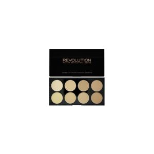 MAKEUP REVOLUTION LONDON Ultra Cover and Concealer Palette Light - paletka korektorů