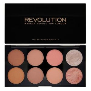 Makeup Revolution Ultra Blush Palette Hot Spice - paletka tvářenek