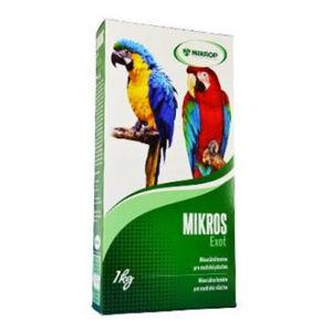 MIKROS Exot pro papoušky prášek 1 kg krabička