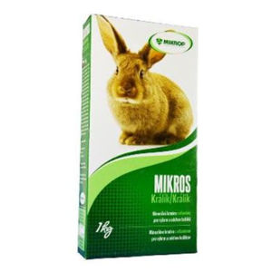 MIKROS Králík prášek 1 kg krabička