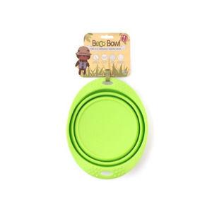 BECO Bowl Travel EKO Cestovní miska pro psy zelená M