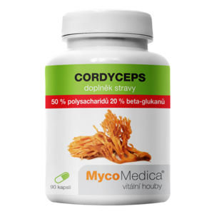 MYCOMEDICA Cordyceps 50% 90 želatinových kapslí