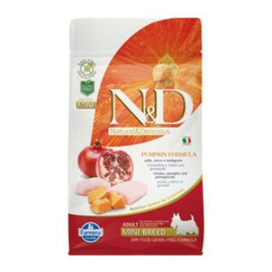 N&D GF Pumpkin DOG Adult Mini Chicken&Pomegranate 800 g